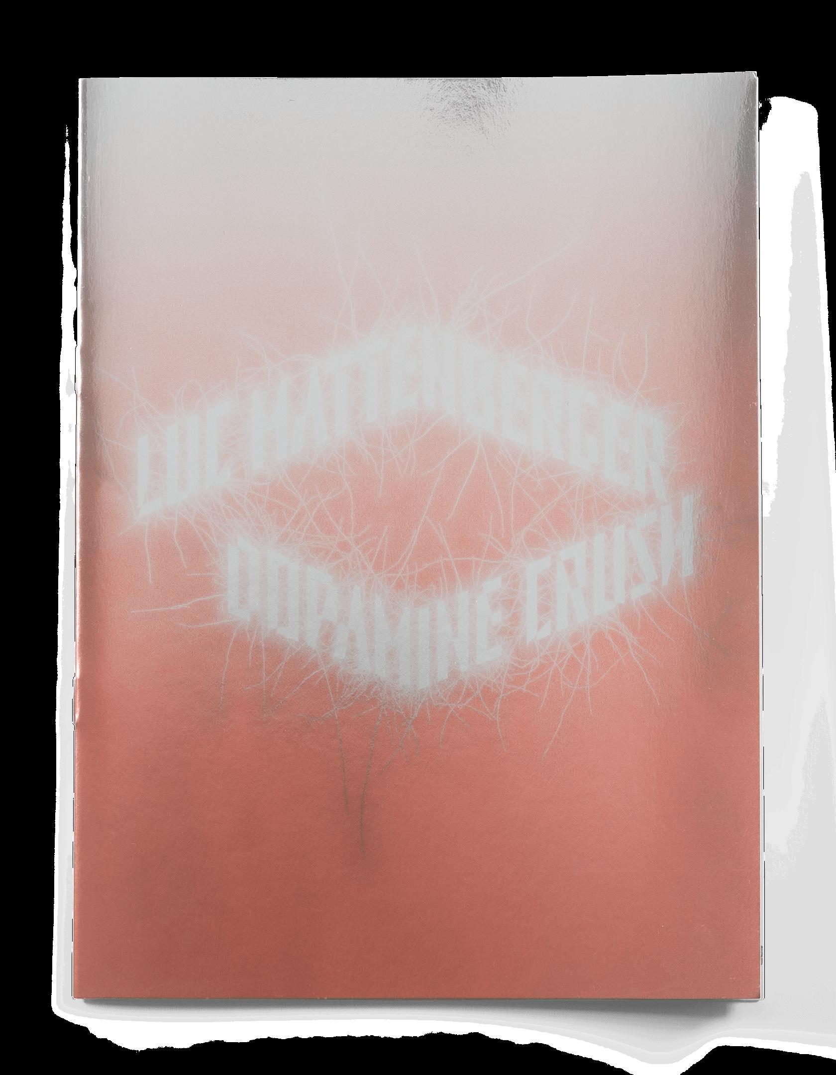 Couverture métallisée de la brochure Dopamine Crush